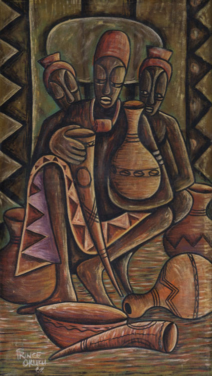 "Onye Na Owu Kari Ugwo; ""Someone who drinks a lot of palm wine- Okuku (1988)"